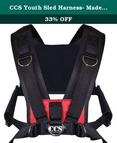 CCS Youth Sled Harness- Made in USA - Limited Time Pricing!! Fast Shipping!! 2-3 Days!! (red). Top selling harness vest. A bit smaller than our top selling men's harness the CCS Vest. Designed to fit small athletes! Great for youth football, soccer, baseball training for speed, agility, strength, explosive moves, and more! Simple for kids to put on and take off. Coaches love this harness. All clients are able to put on and off easily with little demonstration. Intuitive design. Includes…