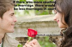 Courtship in marriage