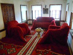 Casa tradicional en Tirana, Albania