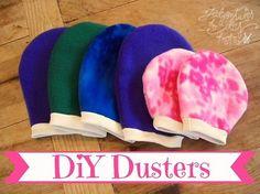 Tutorial: Fleece dusting mitts