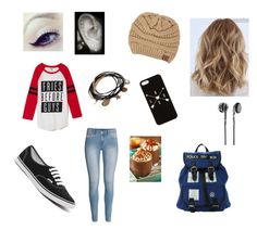 """""""Fall"""" by annaliesemork ❤ liked on Polyvore featuring H&M, Vans, Frends and Forever 21"""