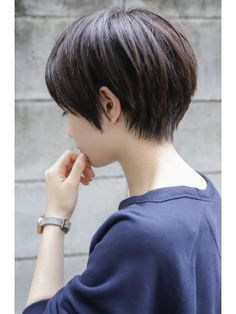 Hairstyles For School Short Bob Haircuts 52 New Ideas Korean Short Haircut, Asian Short Hair, Short Hair Cuts, Hair Styles For Short Hair Bob, Short Hair Tomboy, Girl Short Hair, Tomboy Hairstyles, Pretty Hairstyles, Tomboy Haircut