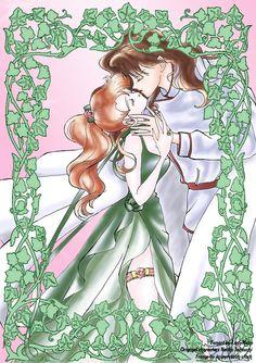 Silver millenium Couples MN by LadyMako.deviantart.com on @deviantART