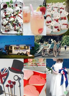 Very #British Summer Wedding Styling Mood Board from The #Wedding Community  weddingideas #britishwedding #weddingstyling #summerwedding