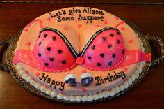 Akiko White -40th birthday cake |