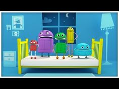 """StoryBots' Classic Songs is a series in which the StoryBots sing and dance along to their own special versions of your child's favorite songs including """"Old . Math Songs, Fun Songs, Preschool Songs, Kids Songs, Kindergarten Songs, Kids Nursery Rhymes, Rhymes For Kids, Storybots Videos, Music"""