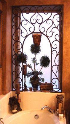 Custom Window Inserts by Trinity Stairs Window Inserts, Custom Windows, Wrought Iron, Stairs, Mirror, Architecture, Home Decor, Arquitetura, Stairway