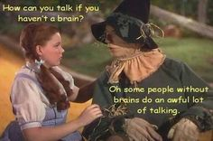 Everything that is true in life...I learned from the Wizard of Oz