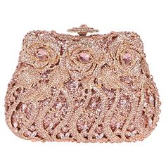Fawziya Rose Clutch Purse Luxury Crystal Evening Clutch Bags - Champagne Fawziya http://www.amazon.com/dp/B00T8W9ZMA/ref=cm_sw_r_pi_dp_1yg4ub1V76YMF