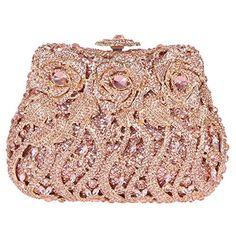 Fawziya Rose Clutch Purse Luxury Crystal Evening Clutch Bags - Champagne Fawziya http://www.amazon.com/dp/B00T8W9ZMA/ref=cm_sw_r_pi_dp_1yg4ub1V76YMF