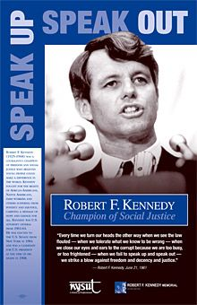 RFK Curriculum Materials for teaching social justice and anti Bullying...