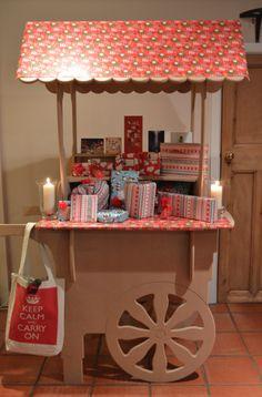 Wedding cart  http://www.ebay.co.uk/itm/Wedding-Cart-Events-Birthday-Sweets-Candy-Ice-Cream-Stall-/191417237376?ssPageName=STRK:MESE:IT