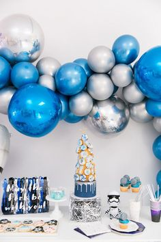Modern Star Wars birthday party ideas