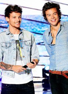 Louis Tomlinson & Harry Styles