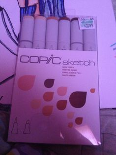 I got new Copic markers YAY