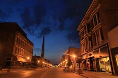 Maine Street in Quincy - Illinois in Focus: A Photographic Tour of ...