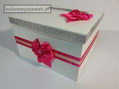 Pudełko na koperty, ręcznie wykonane