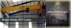 A crane is one of the most important mechanical components used in the industrial areas. Ambica Engineering is a leading #crane_manufacturer_in_India can designed and produced wide range of cranes.
