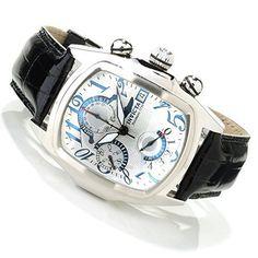 146d2178ed54 Invicta 12599 Men s Dragon Lupah Swiss Valjoux 7750 Alligator Strap Watch   Fashion Time Zones