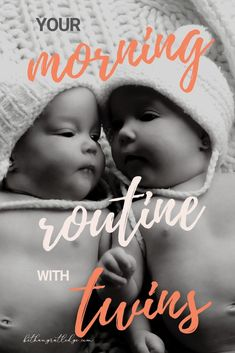 5 tips for a productive morning routine with babies — Bethany Rutledge Twin Mom, Twin Babies, Reborn Babies, Baby Schedule, Baby Checklist, Newborn Twins, Baby Twins, Morning Routine School, Baby Hacks