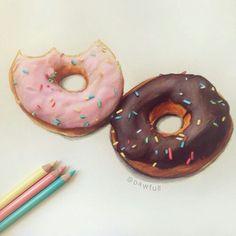 Donuts drawing