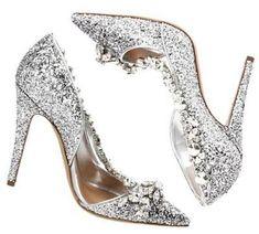 Sparkling dsquared2. #weddingshoes