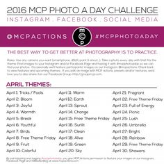 MCP Photo A Day Challenge: April 2016 » MCP Actions