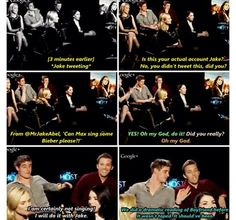 Jake Abel and Max Irons do the funniest interviews together ever! The little fan girl in me gets so ecstatic. The Host Book, Jake Abel, Funny Interview, Miles Teller, I Love Him, My Love, Max Irons, I Movie, Candid