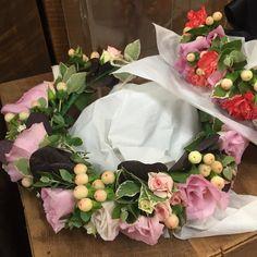 Flower crown #flowercrown #brisbaneflorist #brisbaneweddingflorist by northsideflowermarket