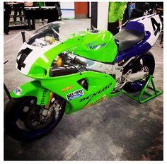 Scott Russell's superbike