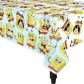 SpongeBob Classic Table Cover 54in x 96in - Girls Party Themes- Girls Birthday- Birthday Party Supplies - Party City