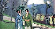 Henri Matisse (French artist, 1869-1954) Conversation under the Olive Trees | Taidetta : Henri Matisse | Pinterest | Henri Matisse, Olives and Trees
