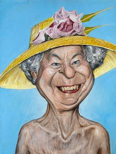Queen Elizabeth II (by Derren Brown)