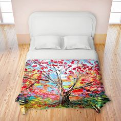 Artistic Duvets by DiaNoche Designs, Story of the Tree