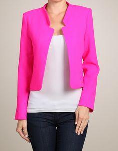 neon blazers @envy clothing