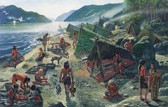 Paleolithic people | Since bovine animals had not yet been domesticated, early humans ...