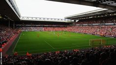 The scene at Anfield before Liverpool FC take on Manchester City Anfield Liverpool, Liverpool Football Club, This Is Anfield, You'll Never Walk Alone, Spiritual Meditation, World Football, Where The Heart Is