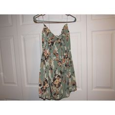 {Costa Blanca} Dress Floral print, strapless, NWT, adjustable tie at the top. Price firm unless bundled!! NOT URBAN Urban Outfitters Dresses Strapless