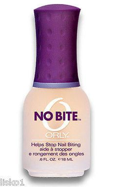 ORLY NO BITE OZ. A bitter-flavored nail bite deterrent helps break the annoying and sometimes painful nail biting habit, allowing for healthy new nail growth. Hint: Ensure healthy new nail growth with Cuticle Care Complex. Applied daily, it softens and Cuticle Care, Nail Care, Nail Growth Tips, Nail Biting Habit, Ingrown Hair Serum, Ingrown Toe Nail, Matte Nail Polish, Lisa, Healthy Nails