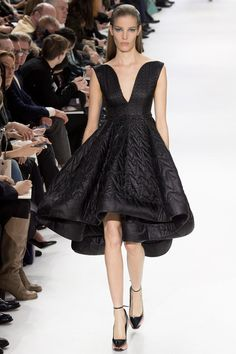 #FW2014 DIY Inspiration - Quilted Christian Dior | Fall 2014 Ready-to-Wear Collection | Style.com