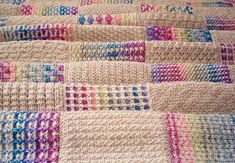 This is the second in a series of 50 patterns for a knitted sampler blanket, to be published weekly throughout 2018. The blanket is made up of 48 squares, a border and an edging, each featuring a different stitch pattern or technique so the whole project is a masterclass in knitting. As well as written instructions, charts are included for each of the squares.