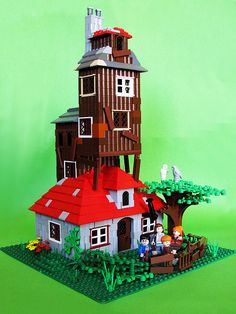 The Weasley's house!  Every Lego Harry Potter fan should have one of these.
