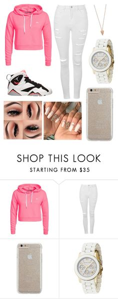 """"" by fashion-1407 ❤ liked on Polyvore featuring Only Play, Topshop, Retrò, Case-Mate, Michael Kors and Pamela Love"