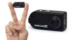 The $76 Chobi Cam Pro manages to gain 720P video recording while only being the larger than the tip of a finger.