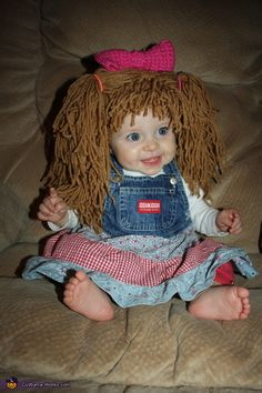 cabbage patch doll costume cute baby costumesdoll halloween - Cabbage Patch Halloween Costume For Baby