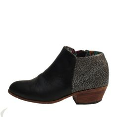 Dos Tonos Ankle Boot | Uxibal in love <3
