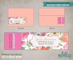 Custom Print Clear Address Labels    X  Transparent Custom
