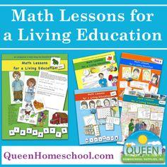 Math Curriculum for the Charlotte Mason #Homeschool #CMHomeschool  (affiliate link)