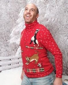 Could this be the year we _finally_ get to do an ugly sweater xmas party?