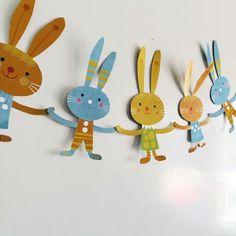 Puput rivissä. lasten | askartelu | pääsiäinen | käsityöt | koti | paperi | DIY ideas | kid crafts | Easter | home | paper crafts | Pikku Kakkonen